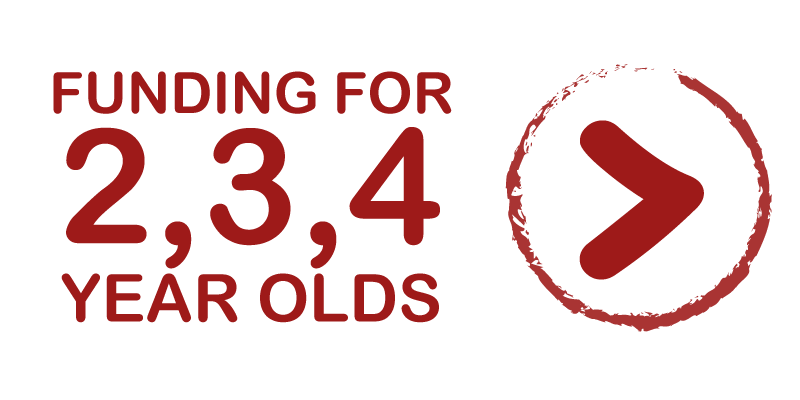 Funding for 2, 3, 4 year olds - Learn more